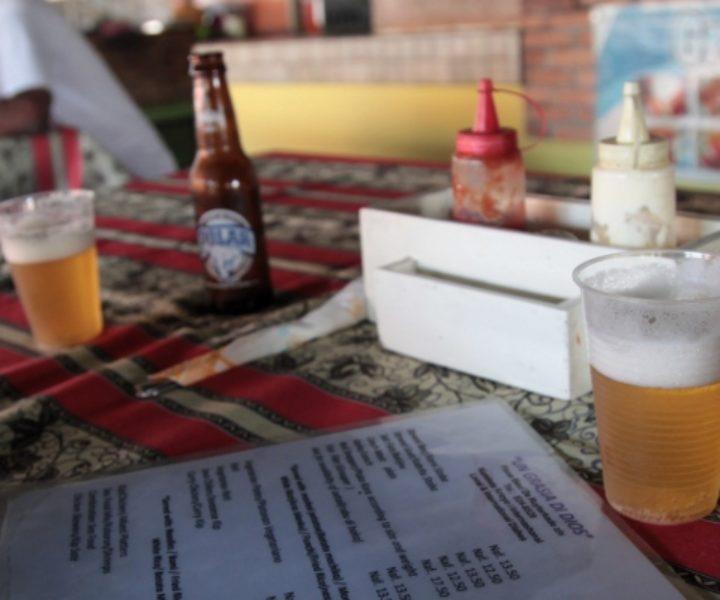 Cerveja e Cardápio no Plaza Bieu