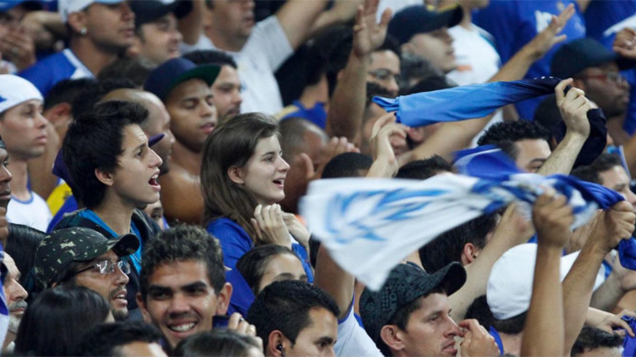 Torcida do Cruzeiro acompanha o time | Crédito: Washington Alves/VIPCOMM