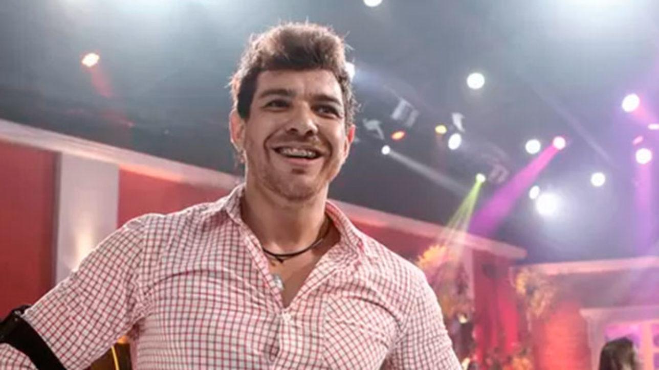 Cesar Lima, vencedor do BBB 15 e culpado pelo atraso no post - Foto: Inácio Moraes/Gshow