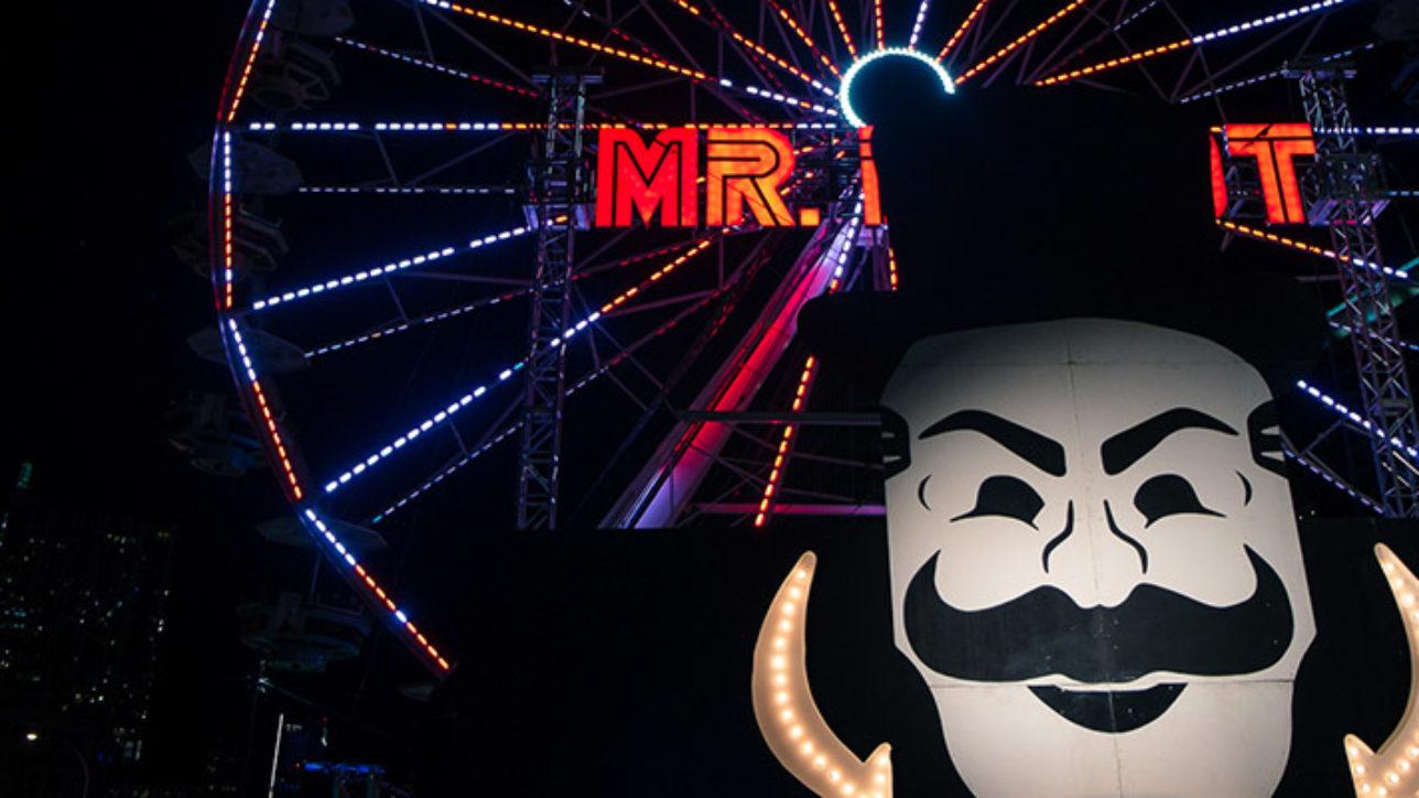 A Roda-Gigante de Mr. Robot, a série da HBO que eu assisti metade de um episódio, somente.