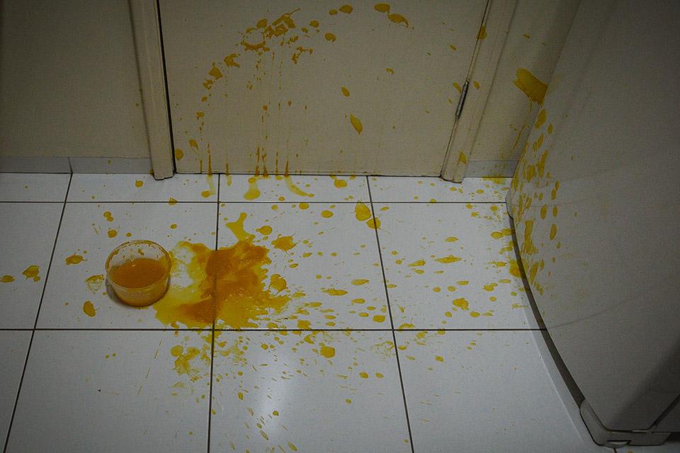 """""""Adeus pote de sopa"""" (Cenoura, gengibre, plástico) - 2016"""