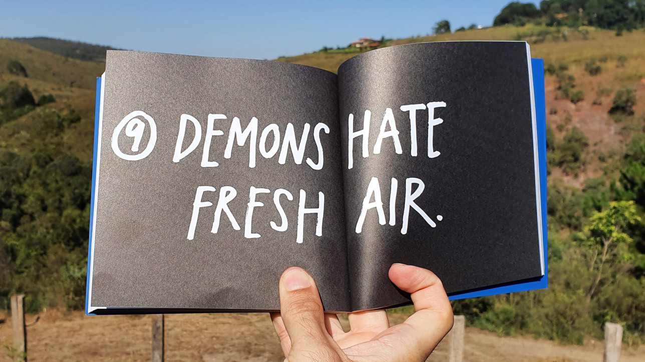 Capítulo 9 do livro do Austin Kleon: Demons Hate Fresh Air